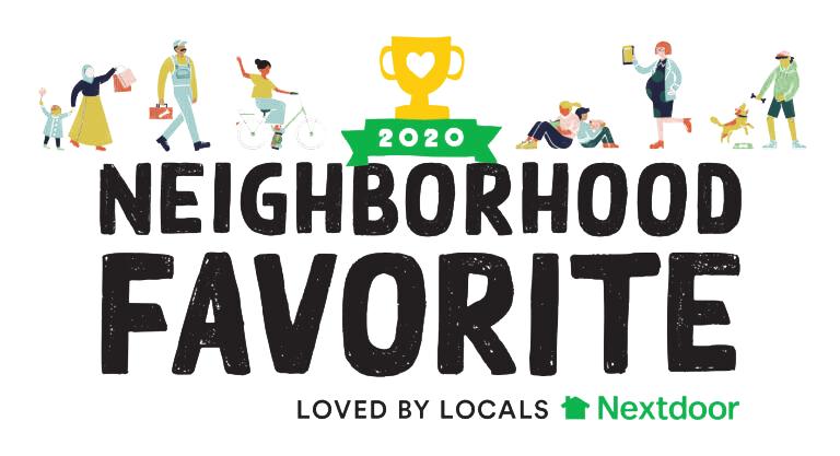 Nextdoor Neighborhood Favorite 2020 Award